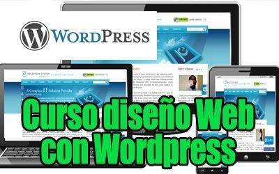 Curso diseño Web con WordPress