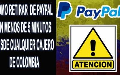Como Retirar Dinero de Paypal Colombia